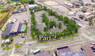 道の駅阿蘇 熊本地震後のドローン空撮の動画 Part.2を公開
