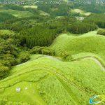 阿蘇波野 荻岳展望台 ミニラピュタの道 ドローン空撮4K写真 20160728 vol.2