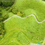 阿蘇波野 荻岳展望台 ミニラピュタの道 ドローン空撮4K写真 20160728 vol.9