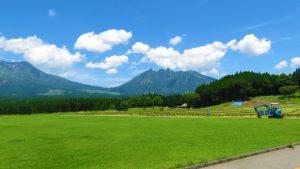 熊本県阿蘇郡高森町からの「根子岳」