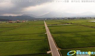 阿蘇国造神社付近水田 一直線が美しい通り ドローン空撮 20160728 予告編を公開