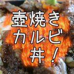 道の駅阿蘇のお弁当、「壺焼きカルビ丼」