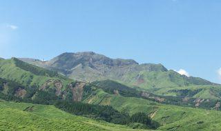 楢尾岳、阿蘇中岳ジオサイト中岳第一火口の北側、アイキャッチ