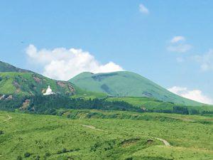大きいサイズの写真、杵島岳ジオサイト往生岳(夏)