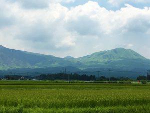 大きいサイズの写真、草千里ジオサイト烏帽子岳(夏)