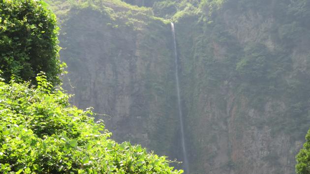古閑の滝ジオサイト、古閑の滝