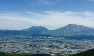 嵐 JAL CM「山に願いを」篇 九州、阿蘇大観峰にて。
