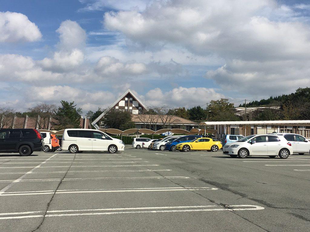 きれいな駐車場