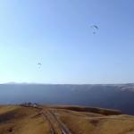 阿蘇大観峰 パラグライダー ドローン空撮(4K)