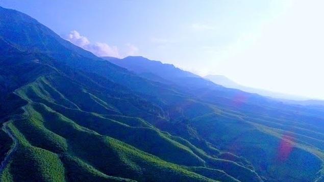 世界の絶景 阿蘇山 ドローン映像 4K Drone video in Mt. Aso