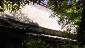 高森田楽の里 茅葺(かやぶき)屋根