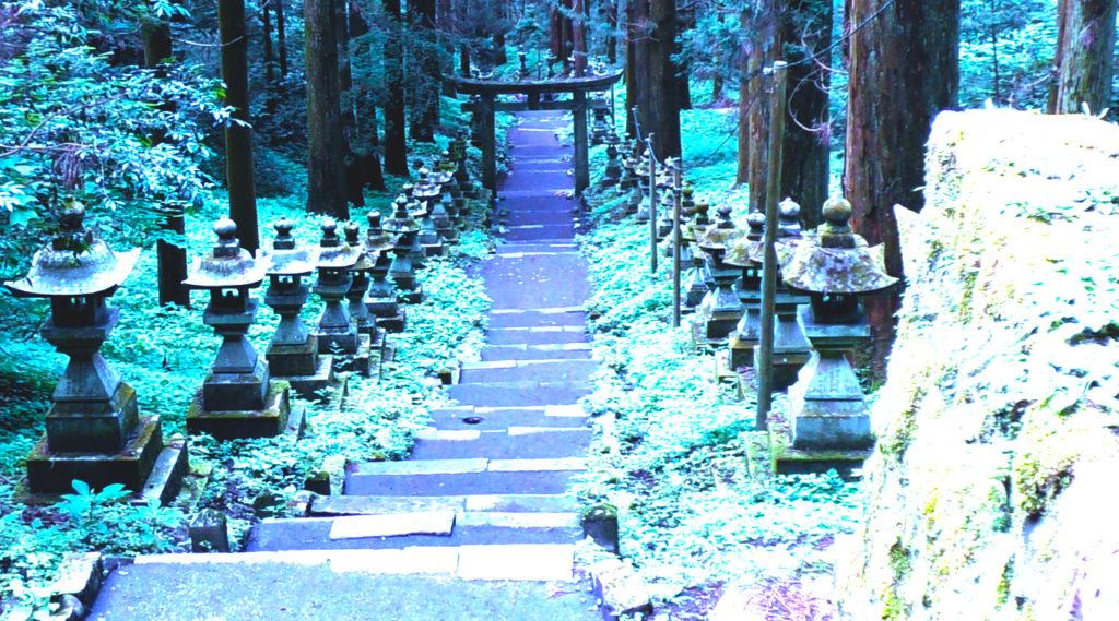 パワースポット上色見熊野座神社
