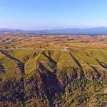 紅葉の阿蘇大観峰 ドローン映像4K 20181025 Drone video in Aso Daikanboの動画を公開